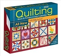Quilting Block and Pattern-A-Day 2020 Calendar (Daily)