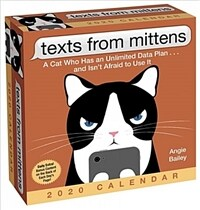 Texts from Mittens the Cat 2020 Day-To-Day Calendar (Daily)