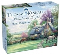 Thomas Kinkade Painter of Light 2020 Day-To-Day Calendar (Daily)