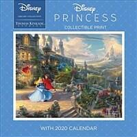 Thomas Kinkade Studios: Disney Dreams Collection 2020 Collectible Print with Wal: Disney Princess (Wall)