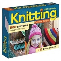 Knitting 2020 Day-To-Day Calendar (Daily)