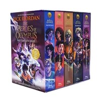 The Heroes of Olympus 5 Books Box Set (Paperback 5권)