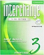 Interchange Student's Book 3 with Audio CD [With CD] (Paperback, 3, Student)