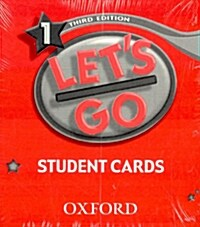 Lets Go: 1: Student Cards (Cards)