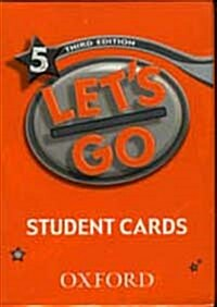 Lets Go: 5: Student Cards (Cards)