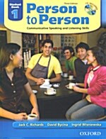 [중고] Person to Person, Third Edition Level 1: Student Book (with Student Audio CD) (Package)