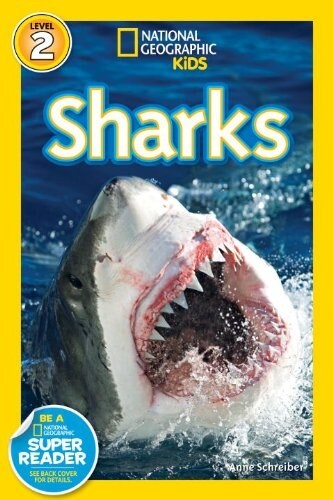 National Geographic Readers: Sharks (Library Binding)