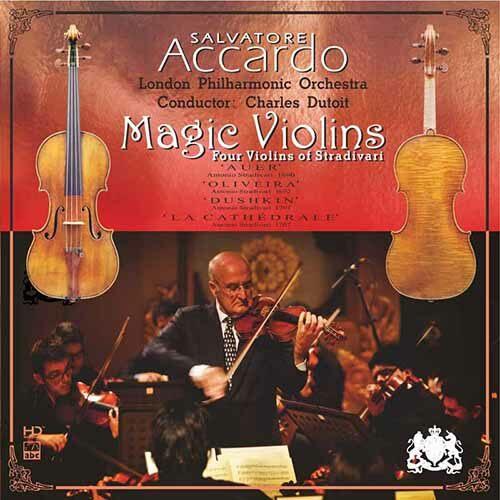 [수입] Salvatore Accardo - Magic Violin [High Definition Mastering]