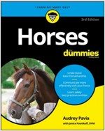 Horses for Dummies (Paperback, 3)