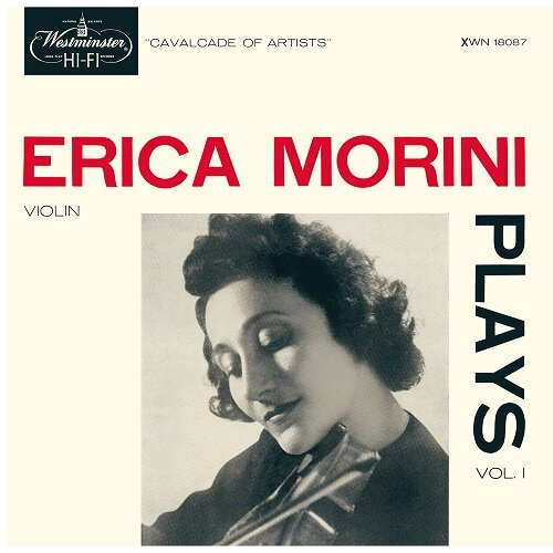 [수입] Erica Morini - Plays Vol.1 (바이올린 소품집) [180g LP]