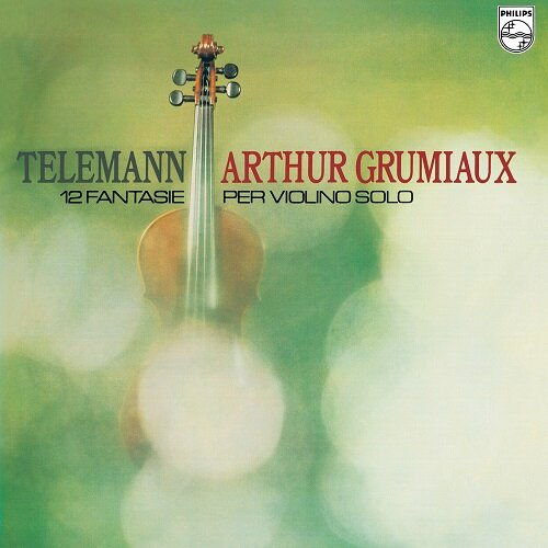 [수입] 텔레만 : 12 무반주 바이올린 환상곡 [180g LP]