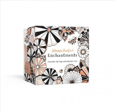 Johanna Basford Enchantments: Colorable Gift Tags with Metallic Cord (Other)