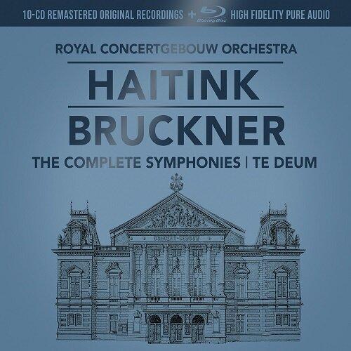 [중고] [수입] 브루크너 : 교향곡 전곡 (오리지널 커버 10CD+1BDA) [슬립케이스 한정반]