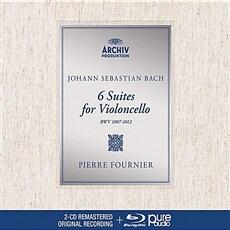 [수입] 바흐 : 무반주 첼로 모음곡 전곡 (2CD+BDA) [디지팩 한정반]
