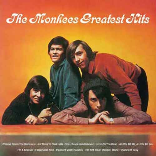 [수입] The Monkees - The Monkees Greatest Hits [Orange Color Limited Edition LP]