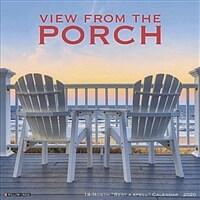 Porch View 2020 Wall Calendar (Wall)