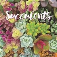Succulents 2020 Wall Calendar (Wall)