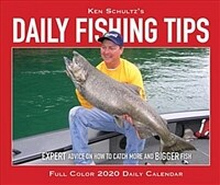 Ken Schultz's Daily Fishing Tips 2020 Box Calendar (Daily)