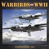 Warbirds of WWII 2020 Wall Calendar (Wall)