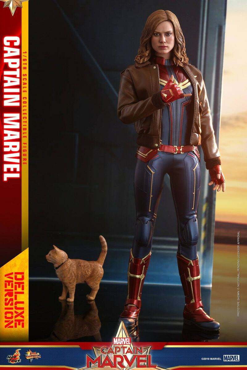 [Hot Toys] 캡틴마블 디럭스 버전 MMS522 - 1/6th scale Captain Marvel Collectible Figure