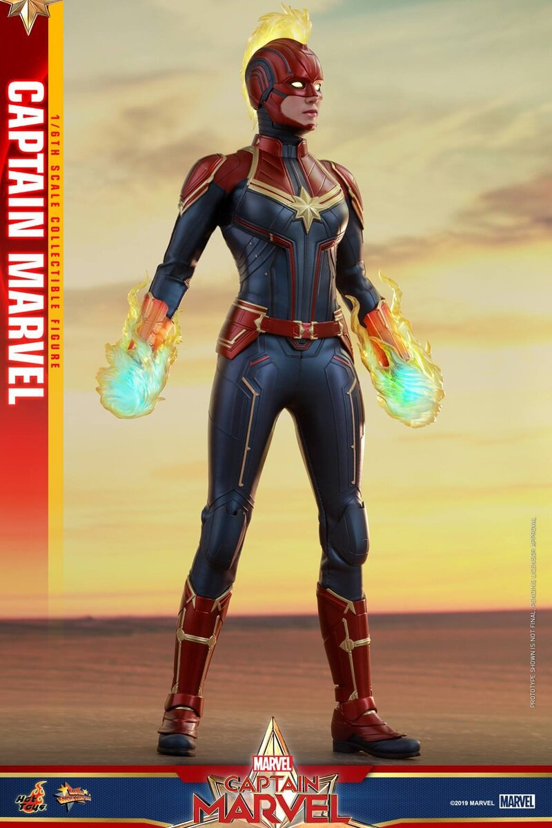[Hot Toys] 캡틴마블 MMS521 - 1/6th scale Captain Marvel Collectible Figure