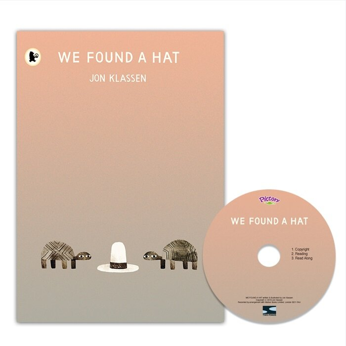 Pictory Set 1-49 / We Found a Hat (Paperback + Audio CD)