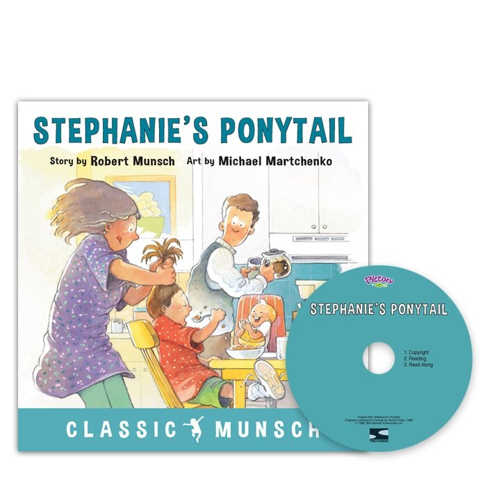 Pictory Set 3-31 / Stephanies Ponytail (Paperback + Audio CD)