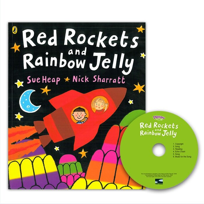 Pictory Set PS-66 / Red Rockets and Rainbow Jelly (Book + CD) (Paperback + Audio CD)