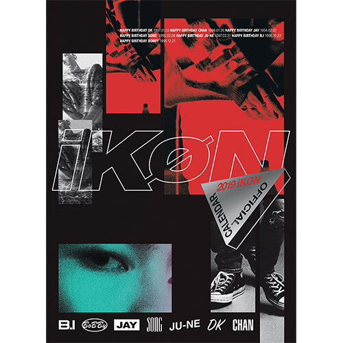 아이콘 - iKON 2019 OFFICIAL CALENDAR
