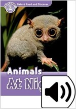 Oxford Read and Discover: Level 4: Animals At Night Audio Pack (Package)