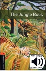 Oxford Bookworms Library: Level 2:: The Jungle Book audio pack (Package)