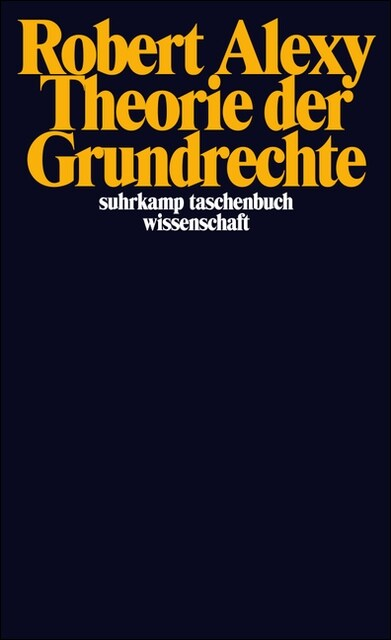 Theorie der Grundrechte (Paperback)