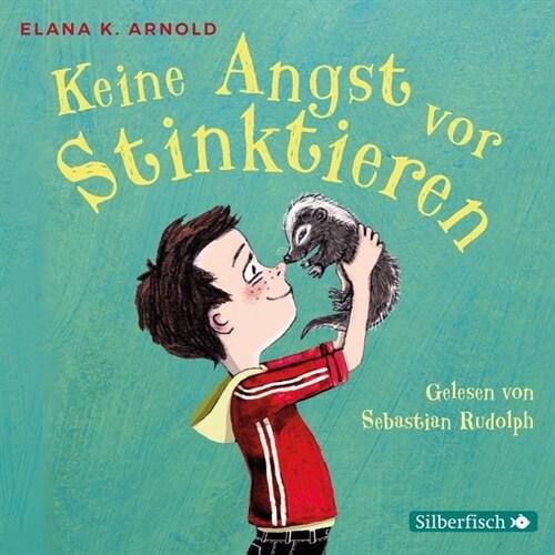 Keine Angst vor Stinktieren, 2 Audio-CDs (CD-Audio)