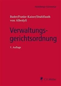 Verwaltungsgerichtsordnung / 7. Aufl