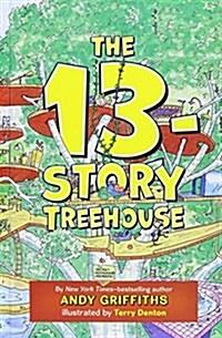 The 13-Story Treehouse: Monkey Mayhem! (Hardcover)