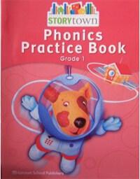 Storytown Teacher Edition Phonics Practice Book Grade 1 (Paperback)