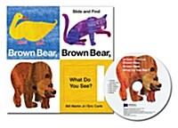 노부영 슬라이드북 Brown Bear, Brown Bear, What Do You See? (Boardbook 원서 & CD) (Boardbook + CD)