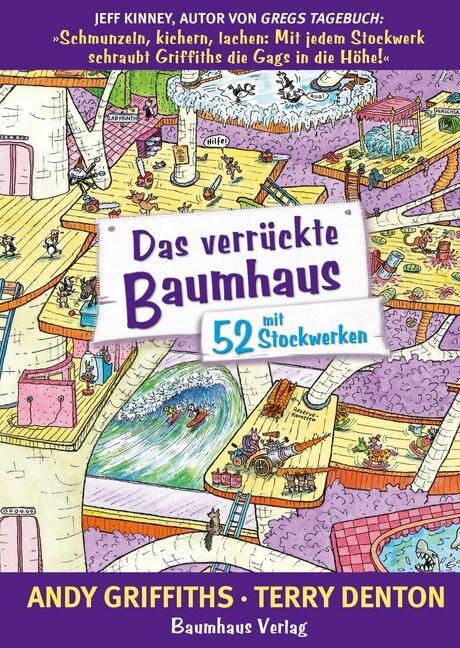 Das verruckte Baumhaus - mit 52 Stockwerken (Hardcover)