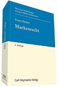 Markenrecht / 4. Auflage