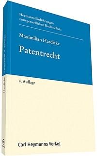 Patentrecht / 4. Aufl
