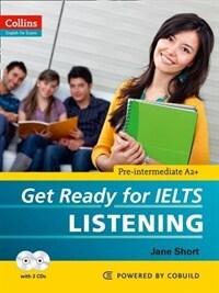 Get Ready for IELTS - Listening : IELTS 4+ (A2+) (Paperback)