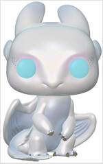 Pop How to Train Your Dragon 3 Light Fury Vinyl Figure (Other)