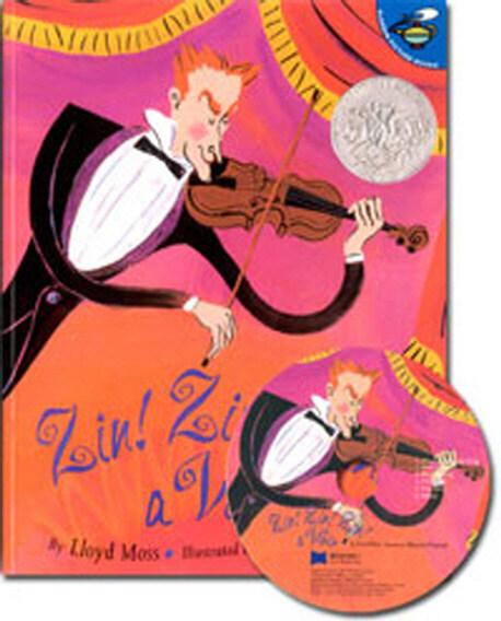 노부영 Zin! Zin! Zin! a Violin (Paperback + CD)