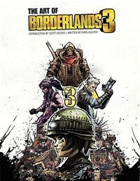 The Art of Borderlands 3 (Hardcover)