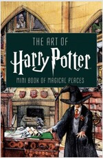 The Art of Harry Potter : Mini Book of Magical Places (Hardcover)