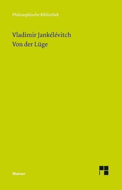 Von der Luge (Paperback)