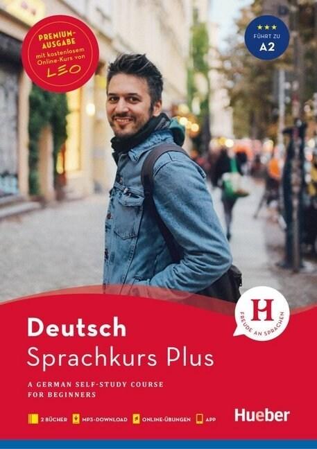 Hueber Sprachkurs Plus Deutsch A1/A2 - Premiumausgabe (WW)