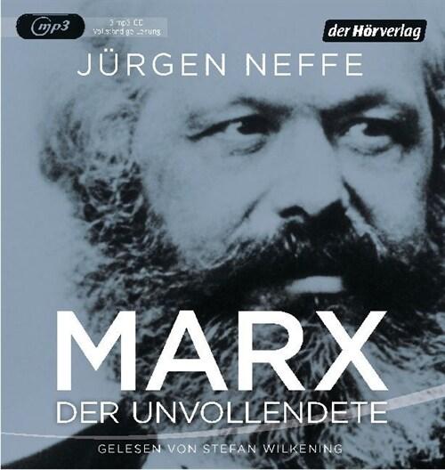 Marx. Der Unvollendete, 3 MP3-CDs (CD-Audio)