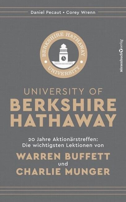 University of Berkshire Hathaway (Hardcover)