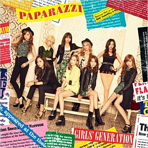 소녀시대 - Paparazzi [Japan 4th Single]
